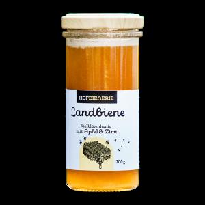 Hofbienerie Glas Landbiene Apfel Zimt